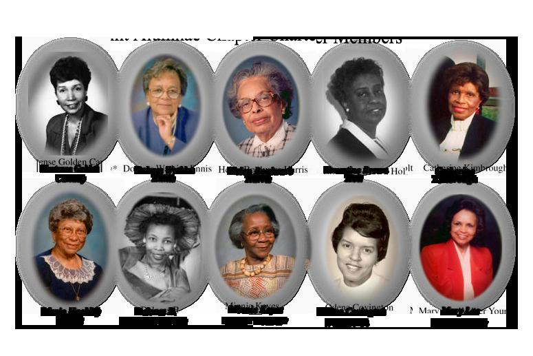 Flint Alumnae Charter Members